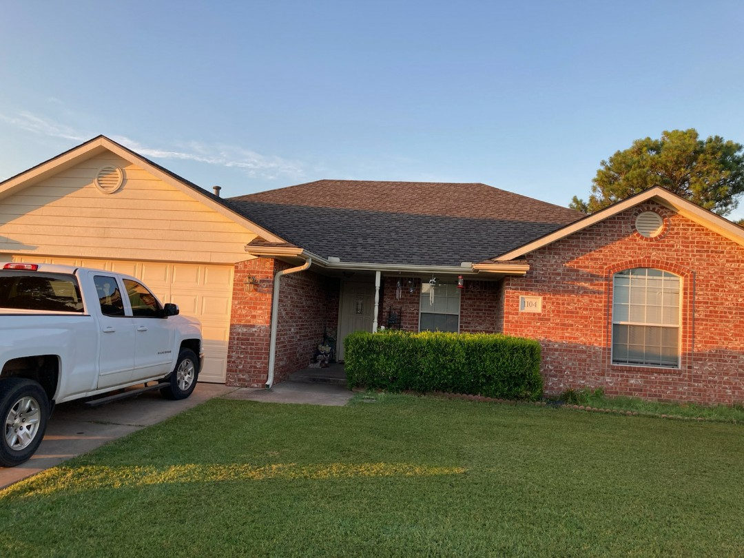 Blanchard, OK - This beautiful home in perkins Oklahoma has a GAF timberline HDZ shingle installed. Call lifestyle home improvement today for your free inspection. 405-990-9354