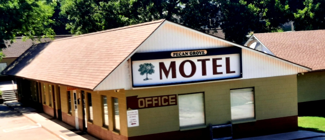 Pawnee, OK - Just finished  up a commercial  roof at Pecan Grove Motel. It was covered by there insurance  from the hail storm in April.