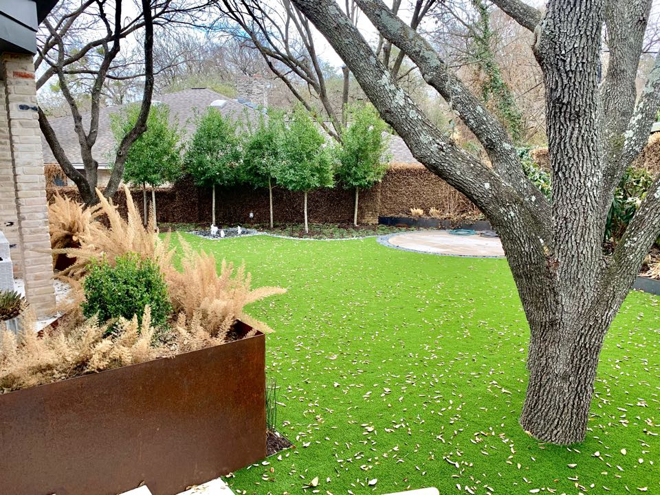 Austin, TX - This Austin hometown recently installed our LawnPop artificial turf, and it turned out amazing! Our turf is eco friendly and helps homeowners cut back on the water bill. It's also a great space for kids and pets to play!