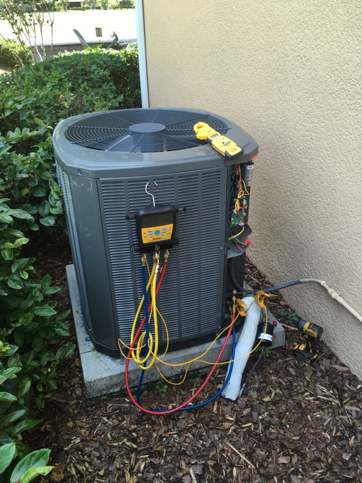 Longwood, FL - Completed Preventive Maintenance on a Trane A/C system for a family in Wekiva golf club neighborhood