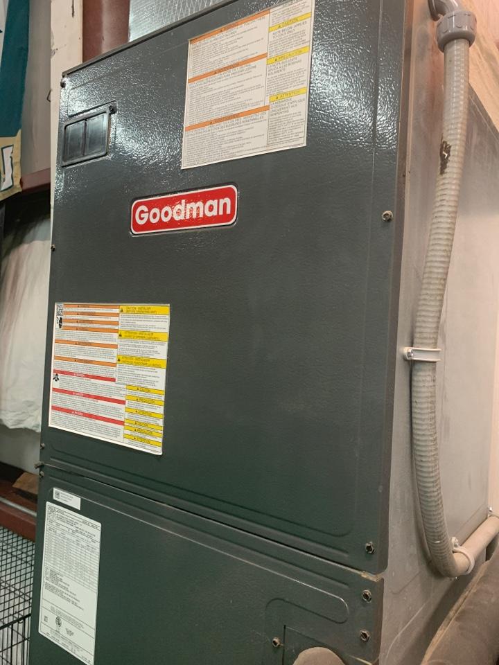 Ocoee, FL - AC Repair Orlando - Emergency Service on a Goodman System for a sports training facility.