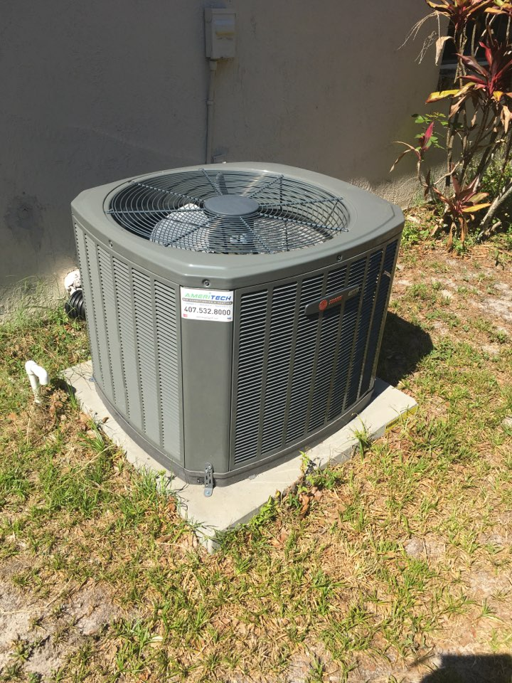 Gotha, FL - AC Service and Repair - Flushed condensation drain line for a family in Gotha neighborhood.