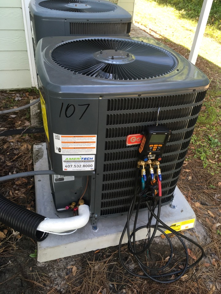 Kissimmee, FL - Diagnosing an issue on a Goodman A/C System In Kissimmee.