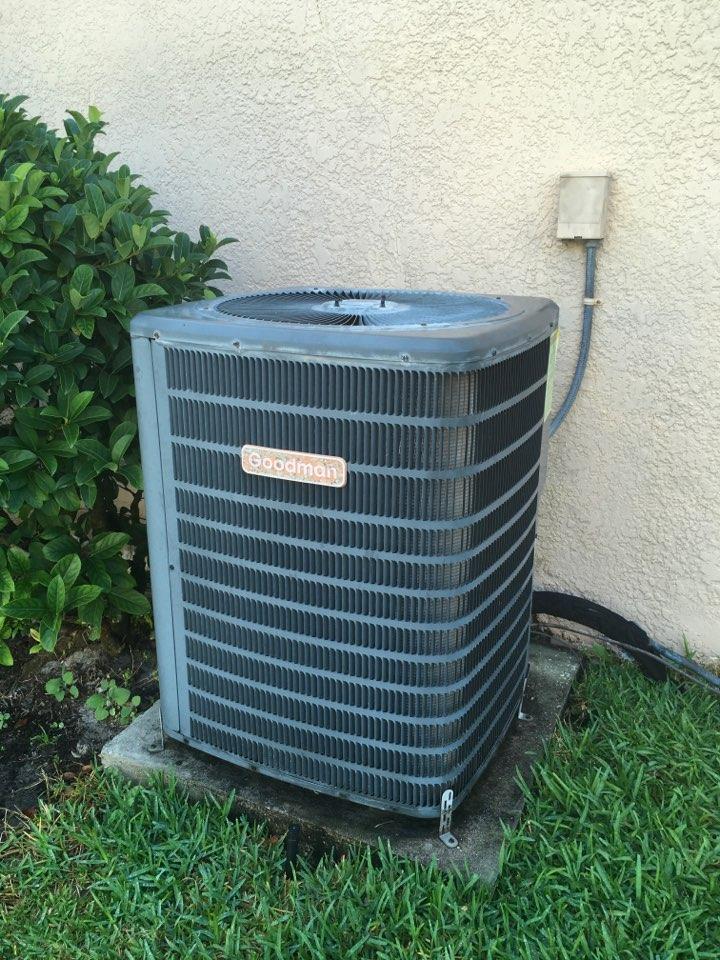 Ocoee, FL - AC Repair Ocoee -  Goodman System for a family in in Ocoee.