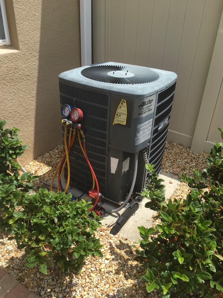 Winter Garden, FL - AC Maintenance Winter Garden - Preventive maintenance requested.  System is ready for Summer Heat!