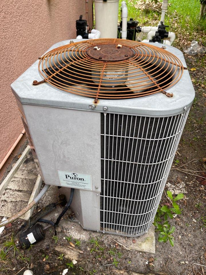 Apopka, FL - Air conditioning Installation Apopka FL - Heat Pump Repair Apopka FL - Replacing a heat pump system in Apopka with a new Franklin system.