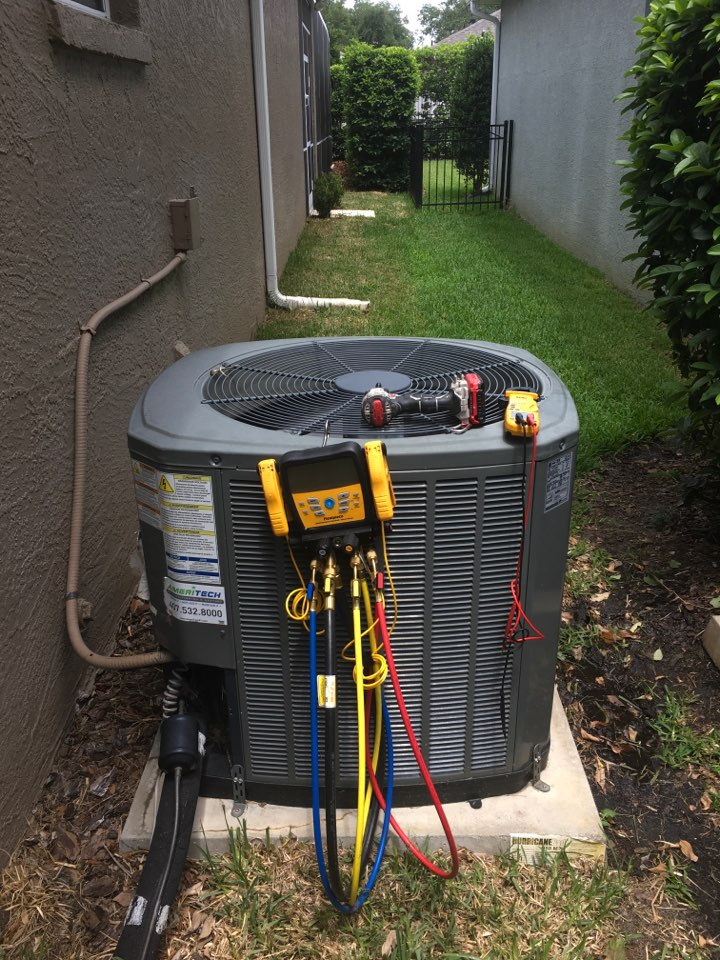 Lake Mary, FL - Performing AC Tune-Up in Heathrow in Lake Mary