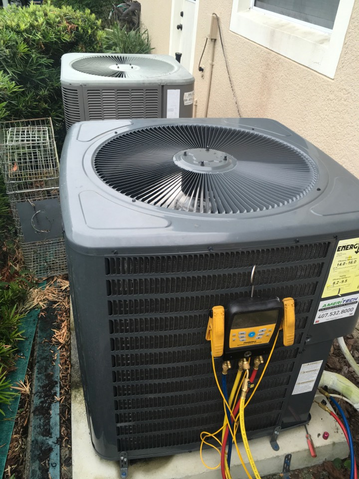 Winter Springs, FL - AC Maintenance Winter Springs FL - Completed maintenance on ac system for a family in winter spring neighborhood
