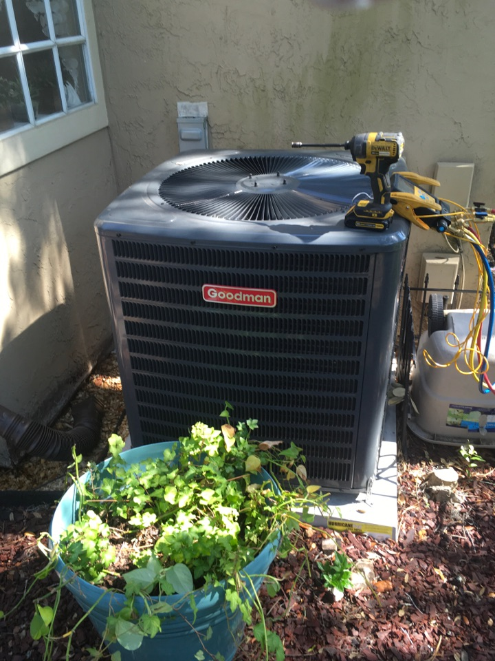Heathrow, FL - AC Repair Lake Mary FL - Unclogged condensation line drain for a family in Lake Mary neighborhood.