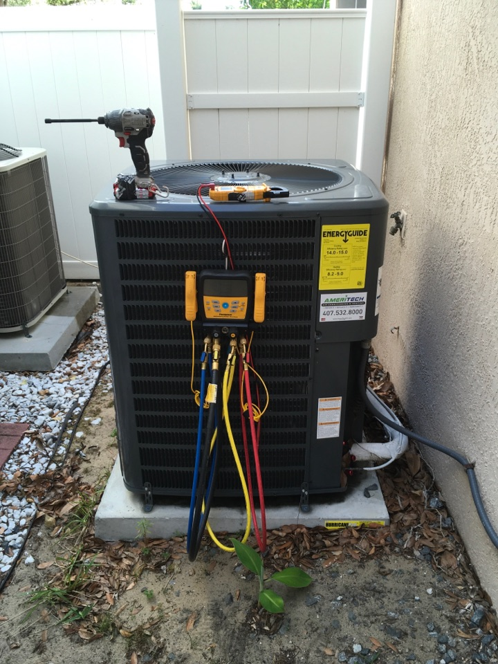 Clermont, FL - AC Service Claremont, FL  - Performing an AC Tune-Up in Clermont