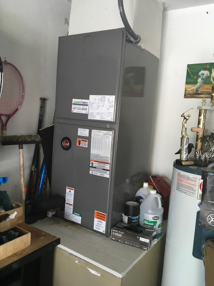 Davenport, FL - AC Repair Davenport on a Rheem system for a family in Davenport.