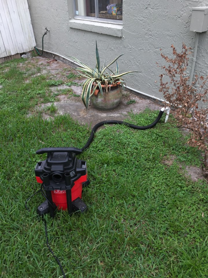 Winter Springs, FL - Cleaning drain line in Winter Springs
