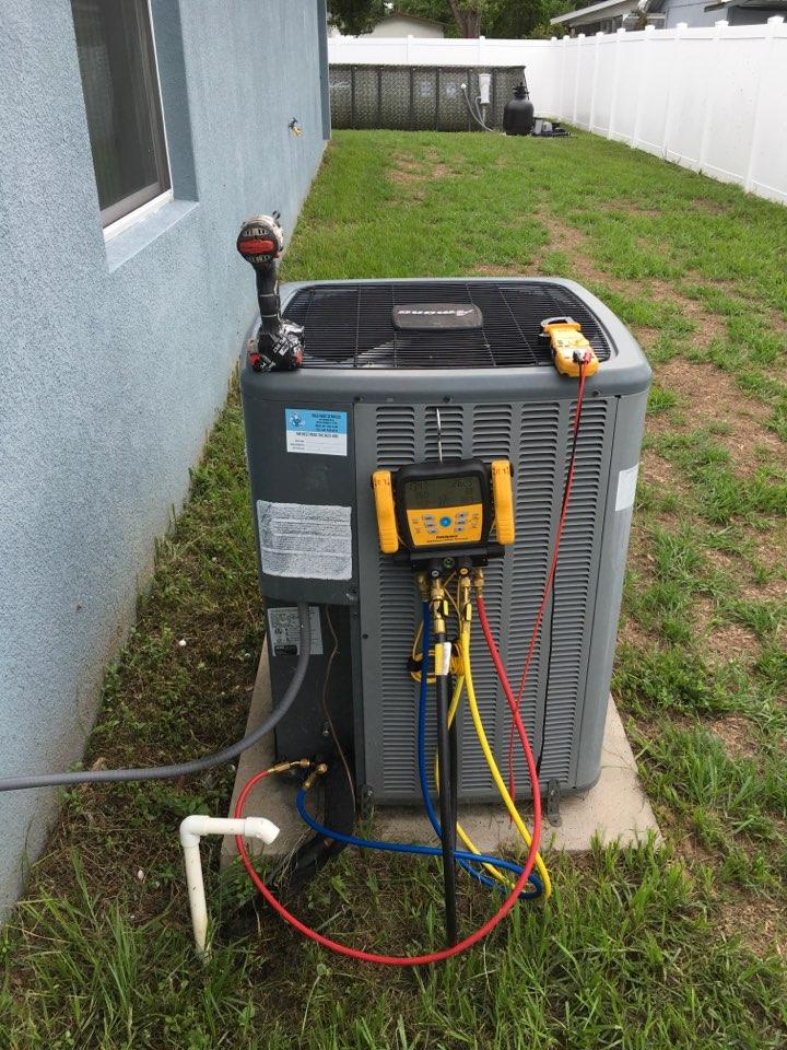 Ocoee, FL - Performing an AC diagnostic in Ocoee