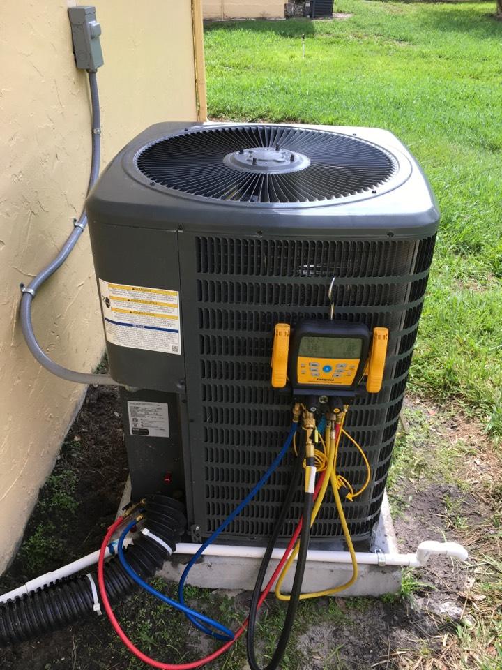 Orlando, FL - AC Repair Orlando - Replaced faulty compressor in Orlando
