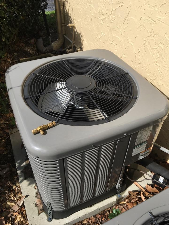 Orlando, FL - AC Repair Orlando - Repaired a Rheem system for a family at south lake Orlando