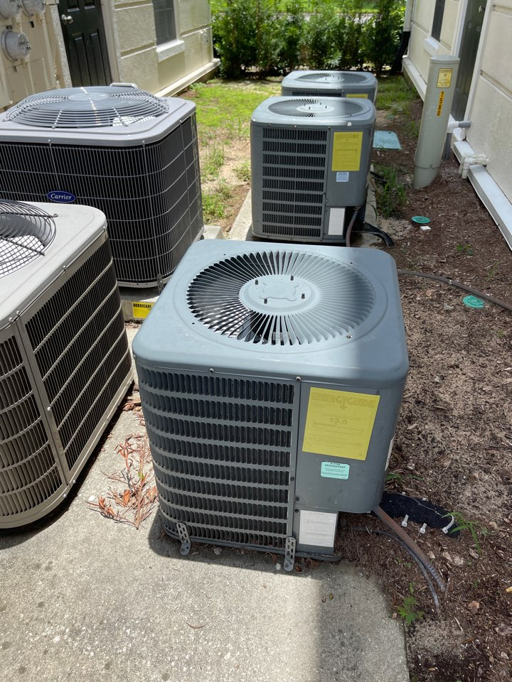 Kissimmee, FL - New AC Installations Kissimmee - Replacing a couple of old Goodman systems in Celebration neighborhood with 2 new Franklin systems.