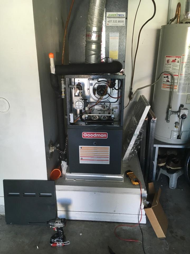 Orlando, FL - AC Repair Orlando - Replacing control board/ blower motor in Watermill subdivision in Orlando
