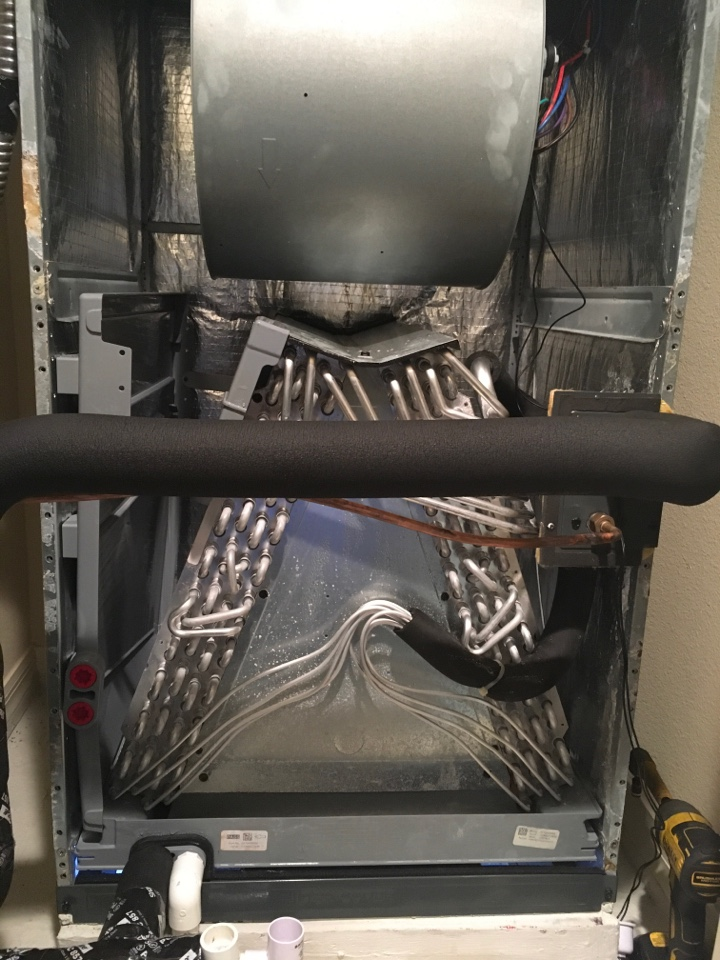 Winter Garden, FL - AC Repair Winter Garden - Replaced evaporator coil for a family in winter garden neighborhood