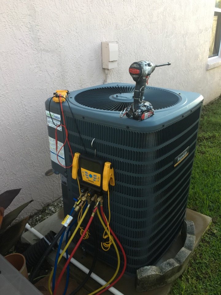 Oviedo, FL - AC Tune Up Oviedo - Performing an AC Tune-Up in Aloma Woods subdivision in Oviedo