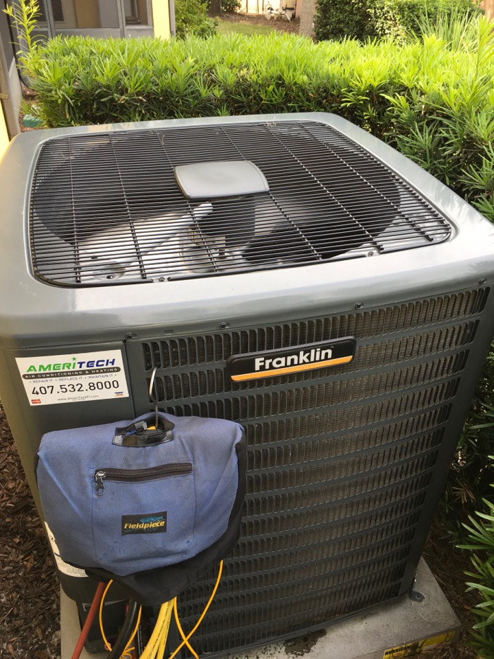 Orlando, FL - Maintenance on a Franklin system for a family at hunters park ln Orlando