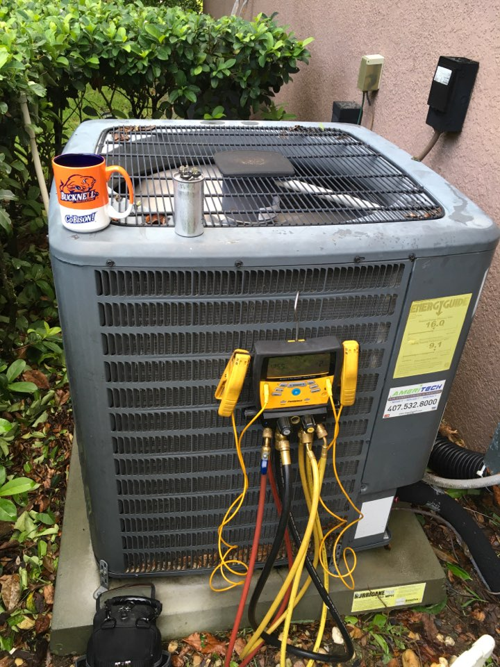 Windermere, FL - Repaired a Goodman system for a family at west over reserve blvd Orlando