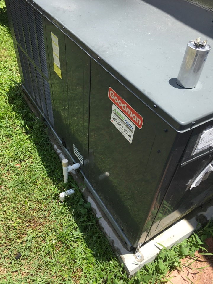 Orlando, FL - Working in the area on Goodman air conditioning