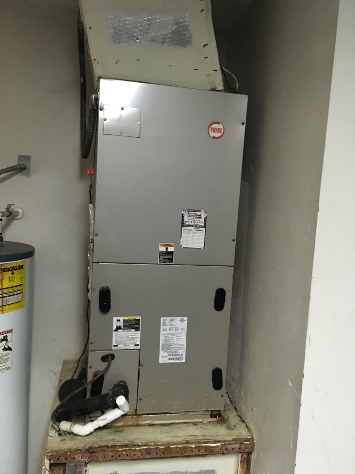 Kissimmee, FL - AC Maintenance on Payne system for a family in Kissimmee, FL