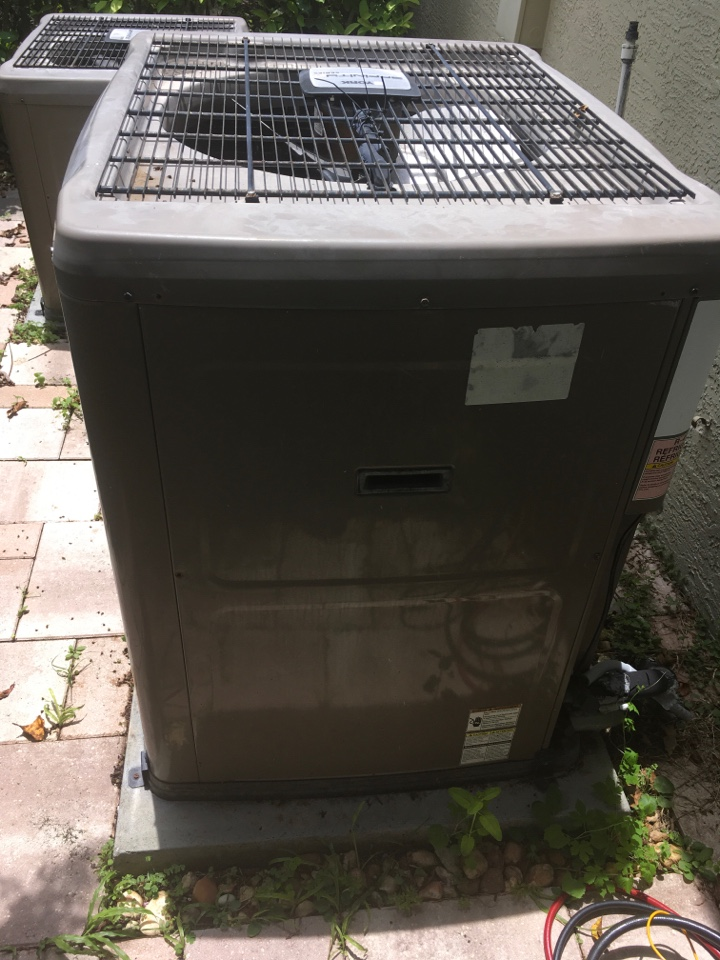 Winter Garden, FL - Repaired a York system for a family at English lake dr winter garden