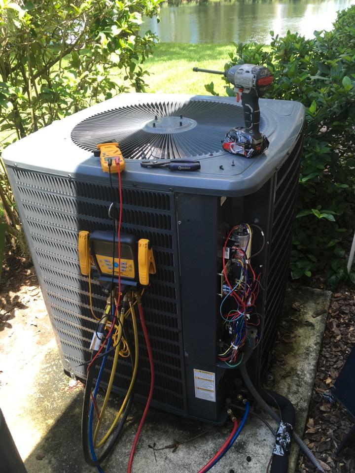 Sanford, FL - Performing ac system diagnostic in Sanford