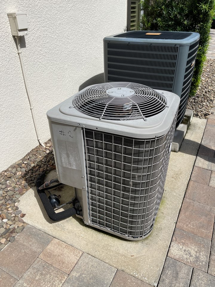 Lake Mary, FL - Replacing an old inefficient system with a new high efficiency Franklin