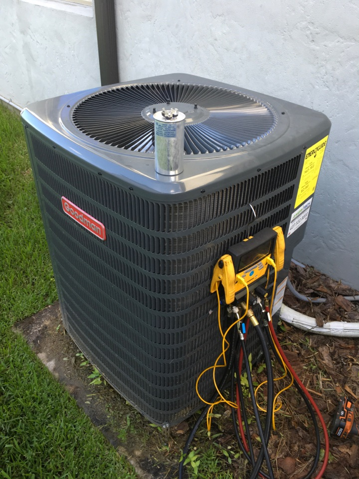 Oviedo, FL - Repaired a Goodman system for a family at brickell pl Oviedo
