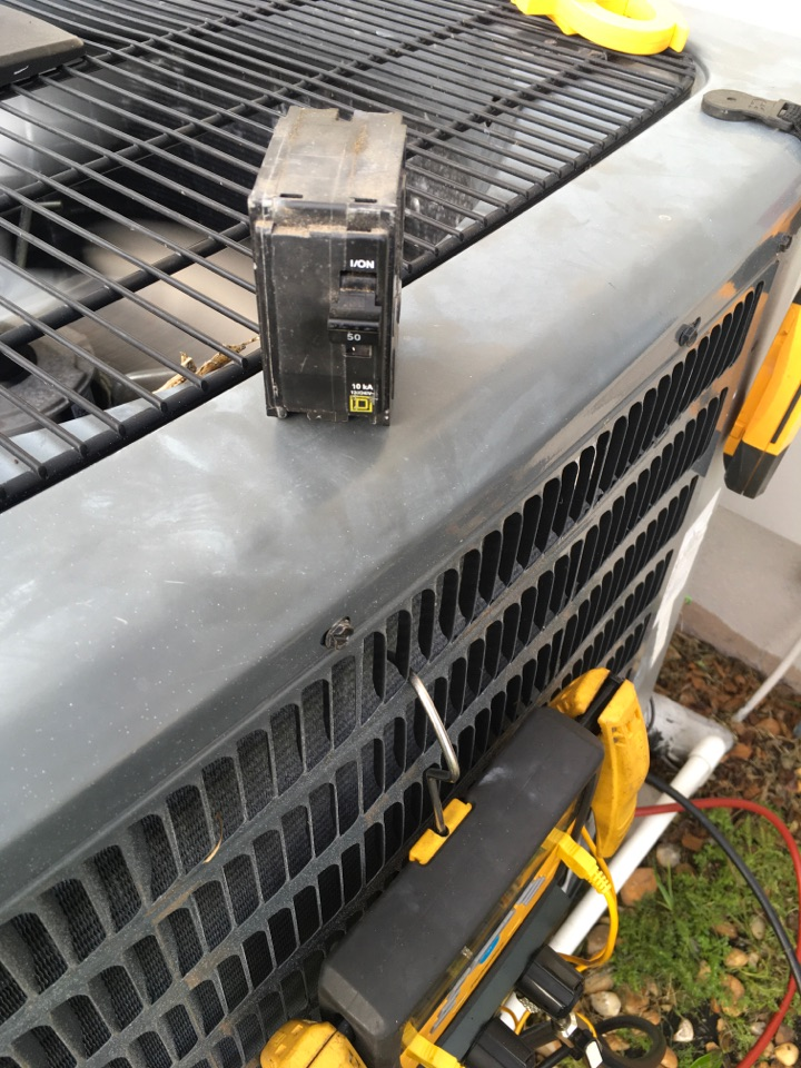 Orlando, FL - Replaced a high voltage breaker to the condenser at the turtle lane Orlando