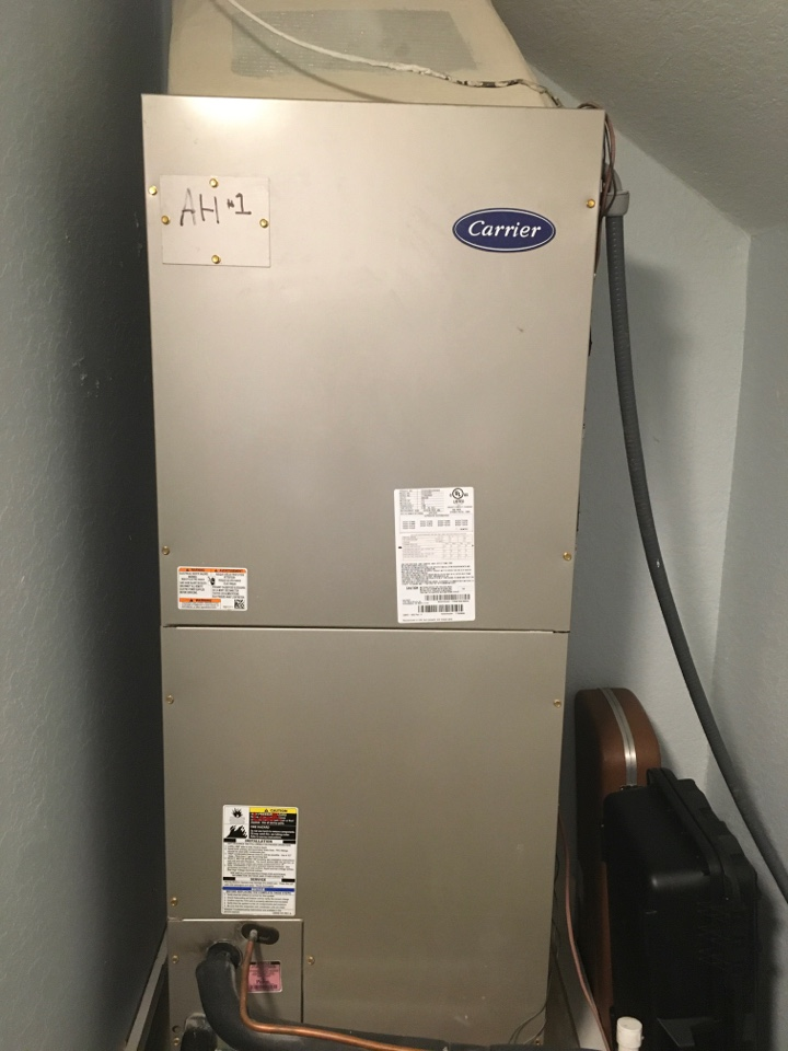 Maitland, FL - Completed maintenance on carrier system for a family in Orlando
