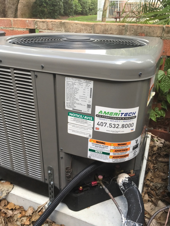 Maitland, FL - Performing a preventive maintenance in mainland