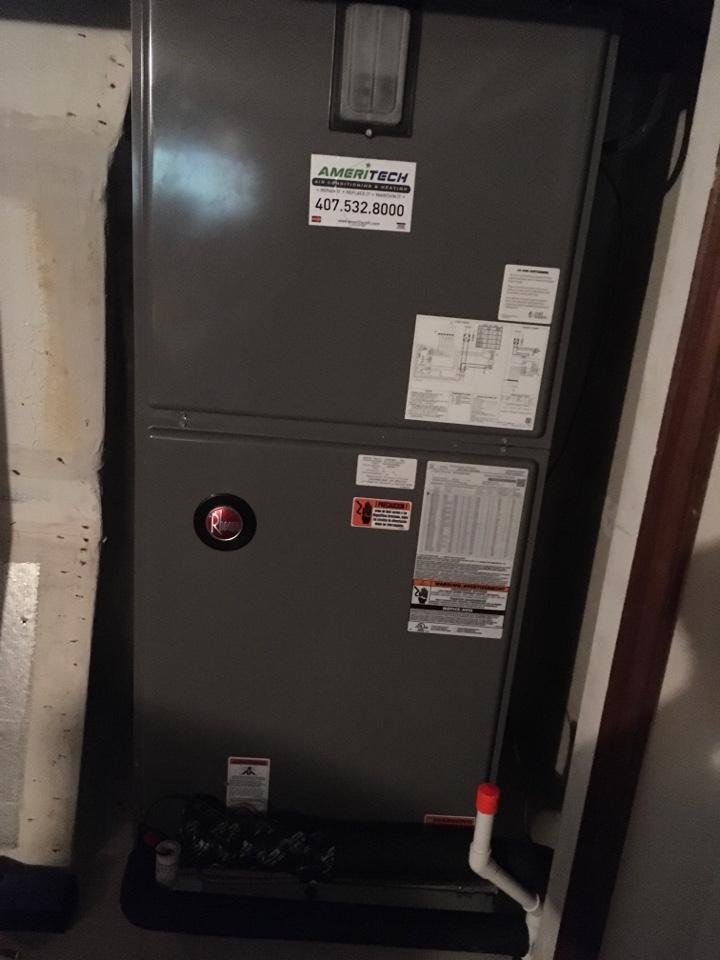 Longwood, FL - Performing a preventive maintenance in Longwood