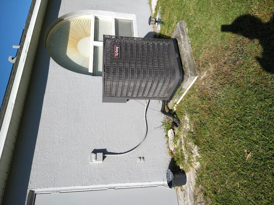 Kissimmee, FL - Replacement quote for a 4 ton Heat Pump