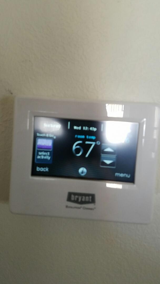 Stratford, TX - Installing Bryant EVO system