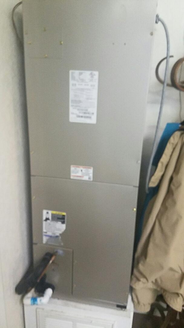 Dumas, TX - Install 3 ton Bryant unit