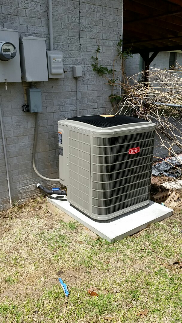 Gruver, TX - Installed a Bryant  4 ton air conditioning and 80% furnace