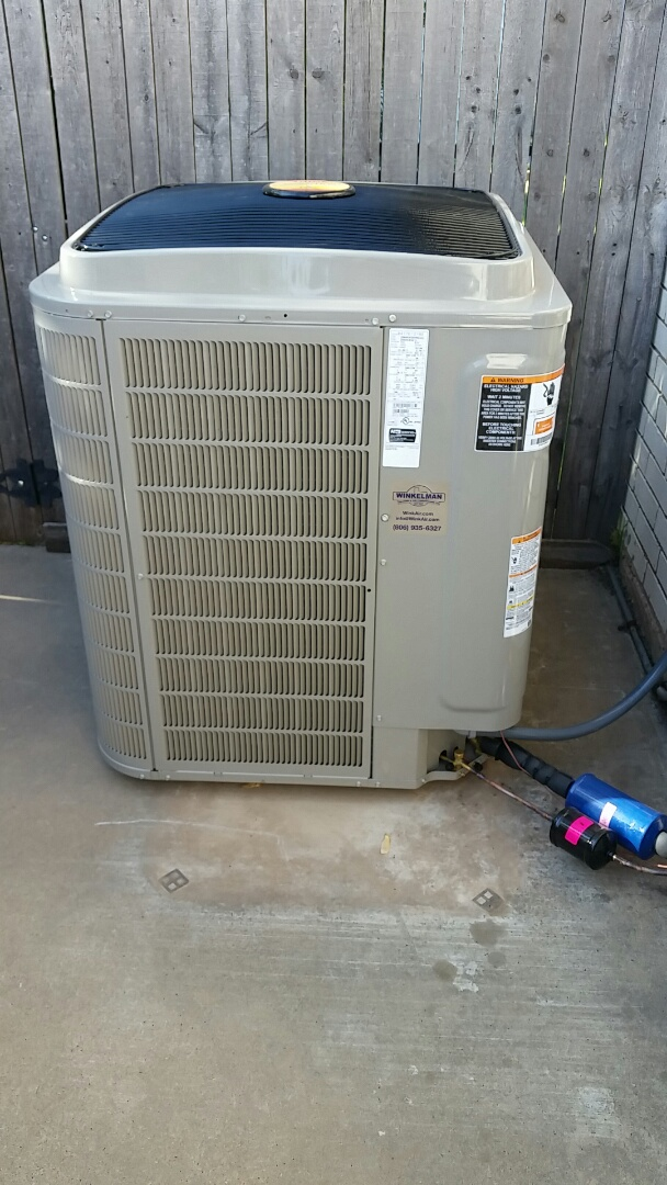 Dumas, TX - Installed a Bryant heating and air conditioning system