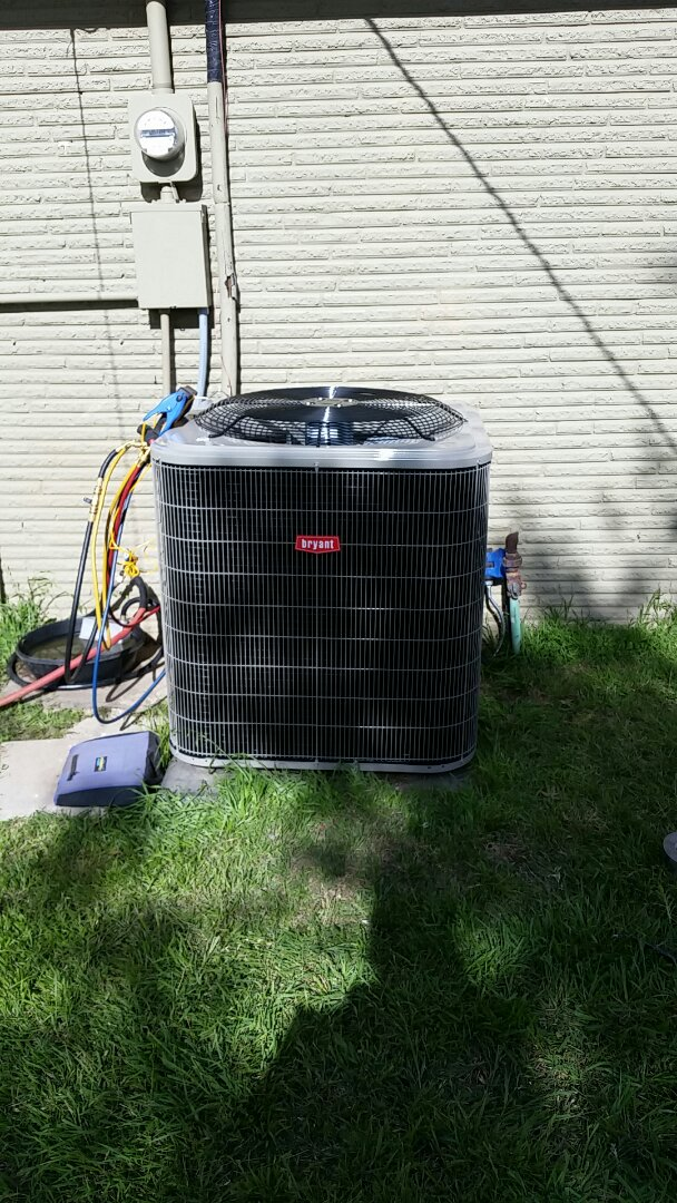 Sunray, TX - Installed a Bryant heating and air system