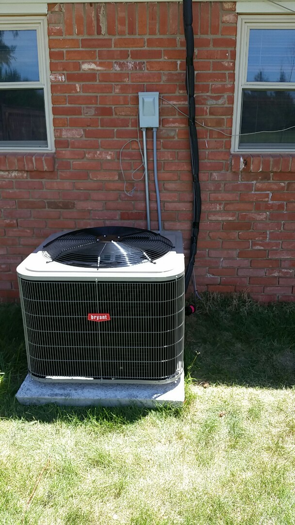 Dalhart, TX - Installed a Bryant heating and air system