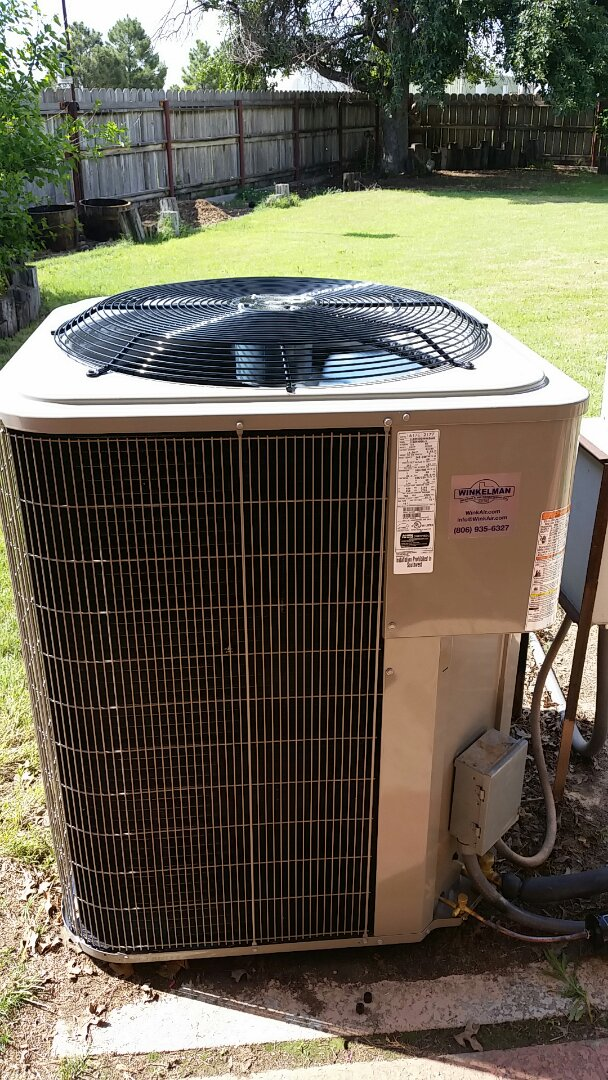 Stratford, TX - Installed a air system and new evaporator coil