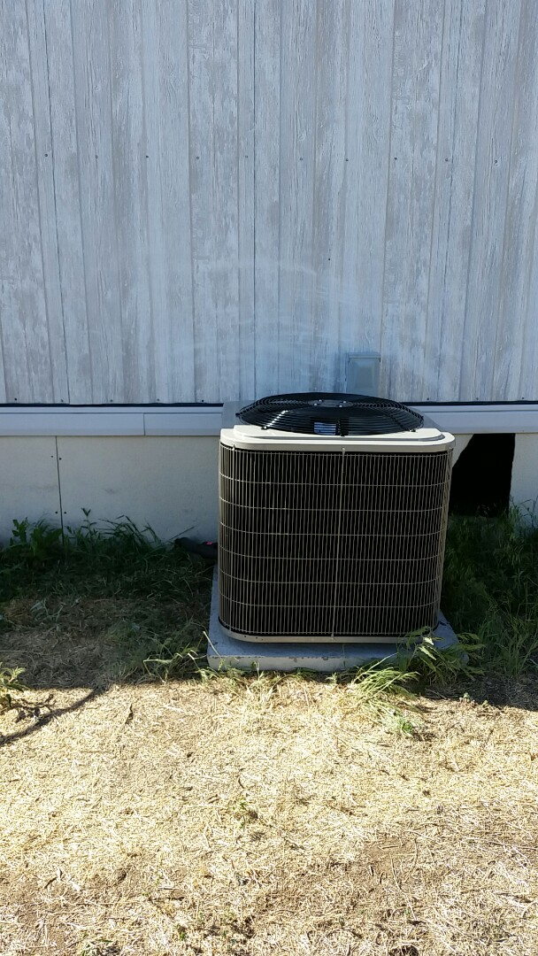 Cactus, TX - Installed a Bryant condenser and evaporator coil