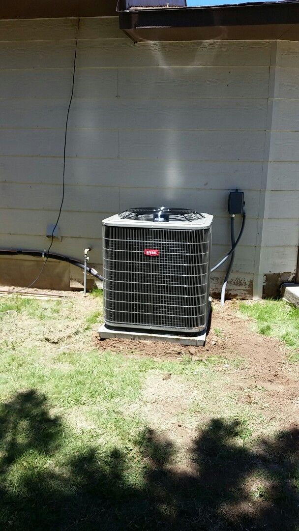 Texline, TX - Installed a Bryant heating and cooling system