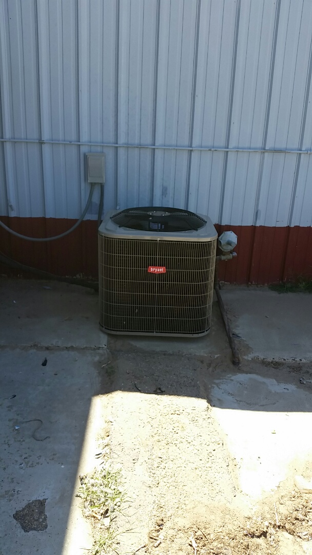 Cactus, TX - Installed a Bryant heating and cooling system