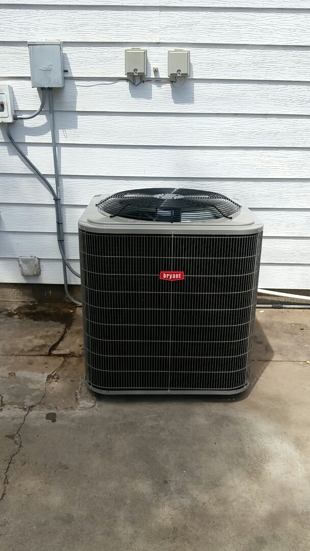 Dumas, TX - Installed a Bryant condenser and evaporator coil