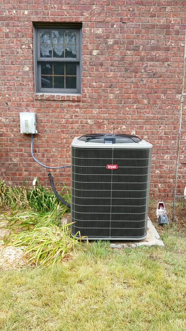 Dalhart, TX - Installed a Bryant heating and cooling system
