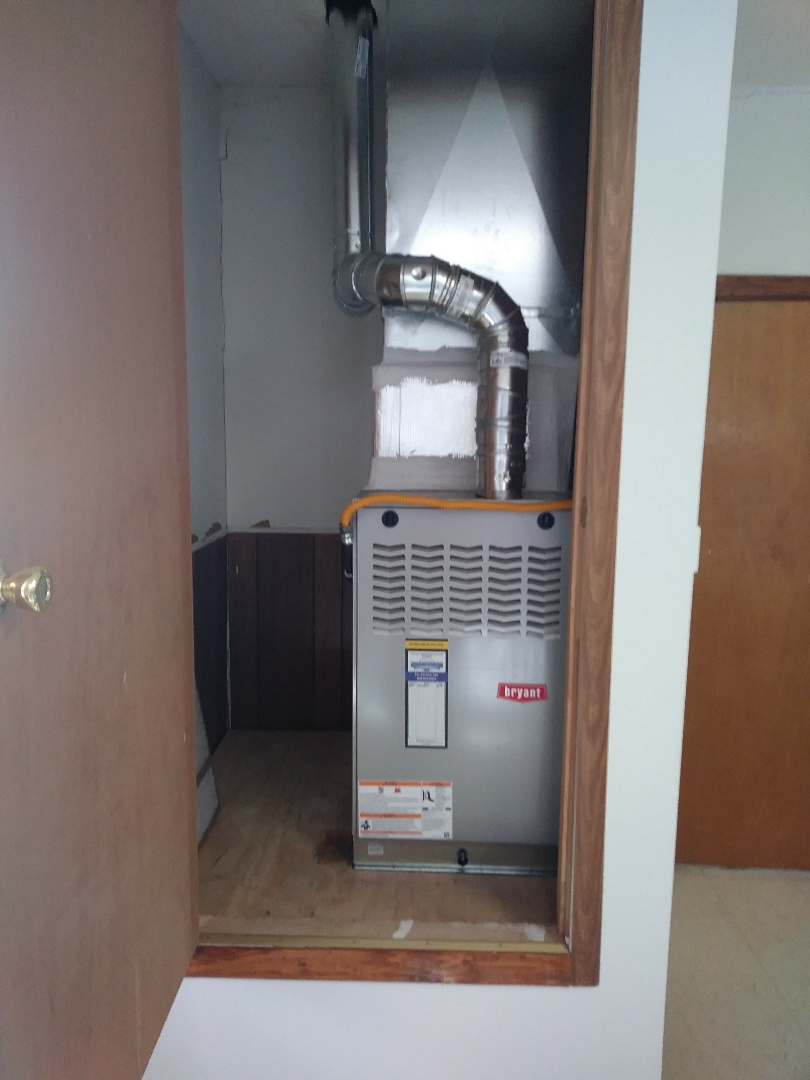 Channing, TX - Installed a Bryant furnace