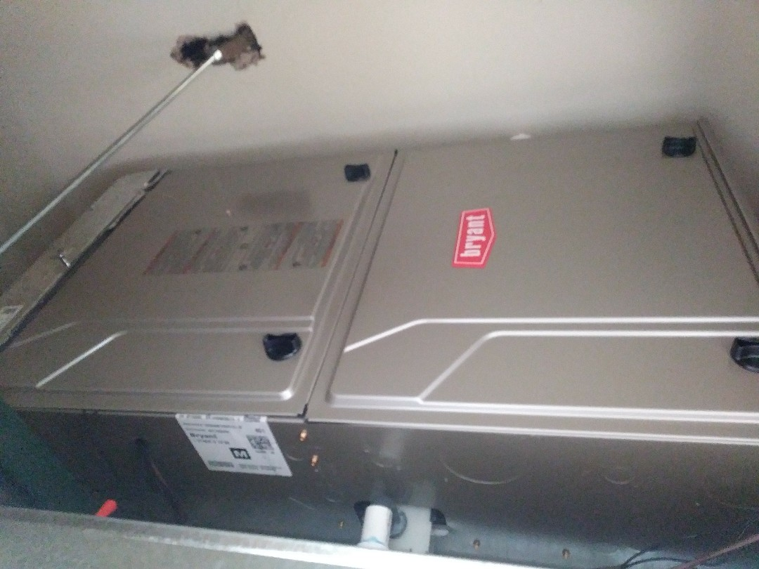 Spearman, TX - Installed a 90% Bryant furnace and evap coil